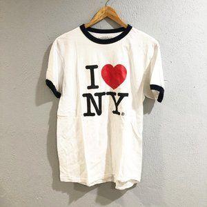 Aeropostale | I Love (Heart) NY Short Sleeve Shirt